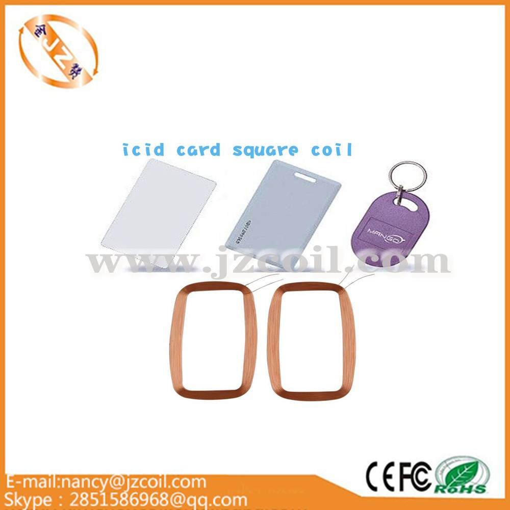 Ic card coil manufacturer for factory supply