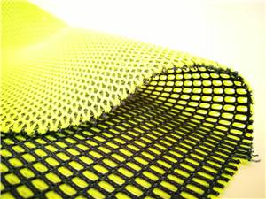 polyester and nylon sandwich mesh fabric