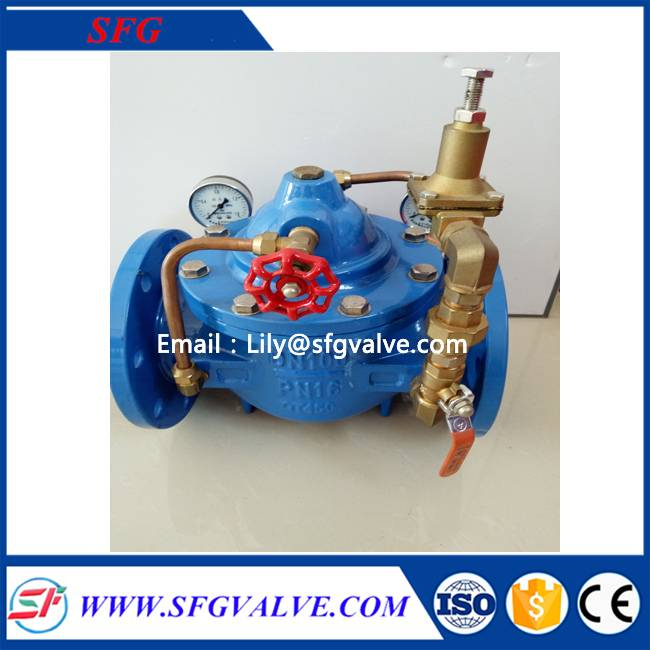 200X adjustable pressure reducing valve made in china