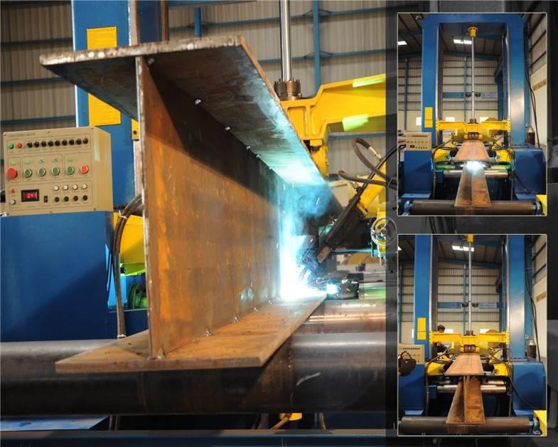 H-beam Assembly Machine