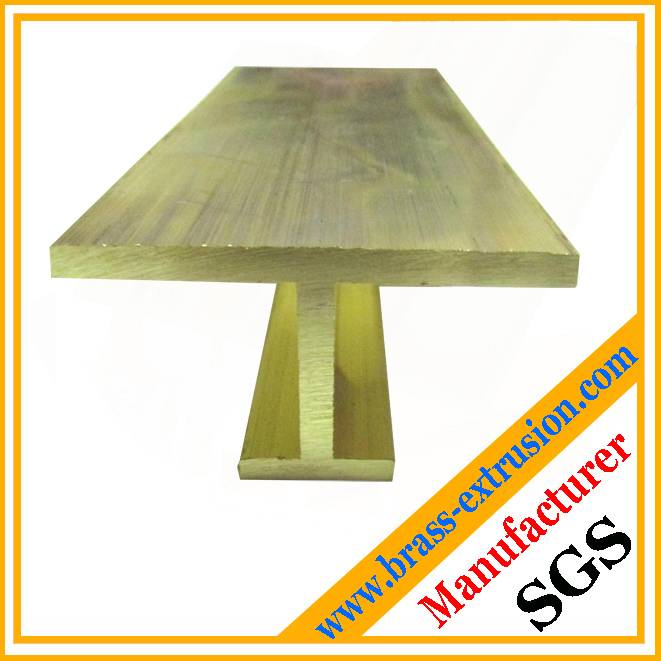 C3604 Customized Brass profile extruded brass Tees