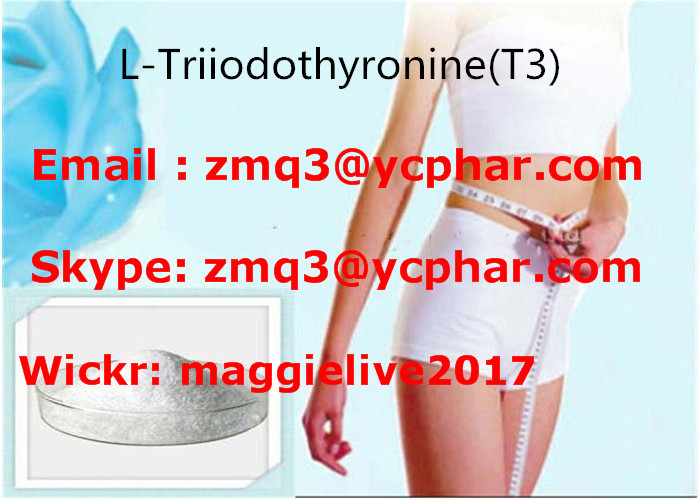 L-Triiodothyronine Fat Loss Hormones T3 Liothyronine Sodium Fat Burning Steroids Powder