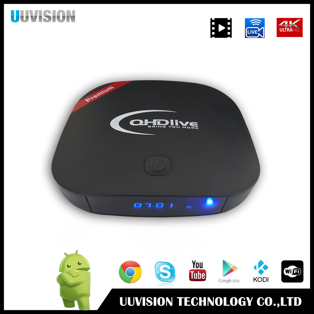 2017 QHDlive IPTV premium support 4K ,Youtube, global 2400 programs
