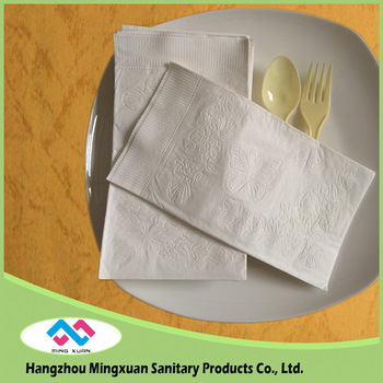 38x42cm Embossed Dinner Paper Napkins