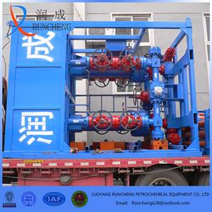 high efficiency filter wellhead desanding equipment with high technical