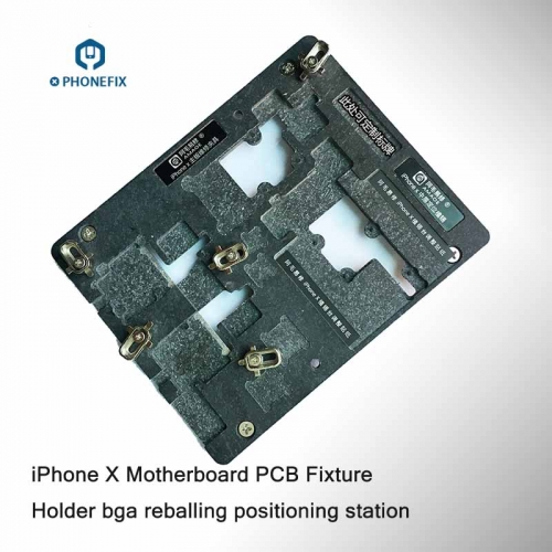 IPhone X PCB Repair Fixture BGA Reballing Positioning Station