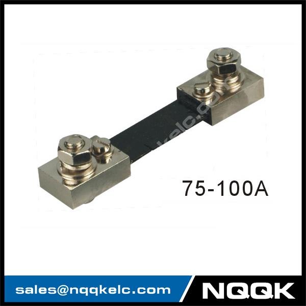 75a 100A 50mV Voltmeter Ammeter Electric welding machine Dc current shunt resistor