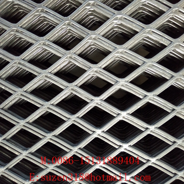 Cheap flattened expanded metal mesh from China