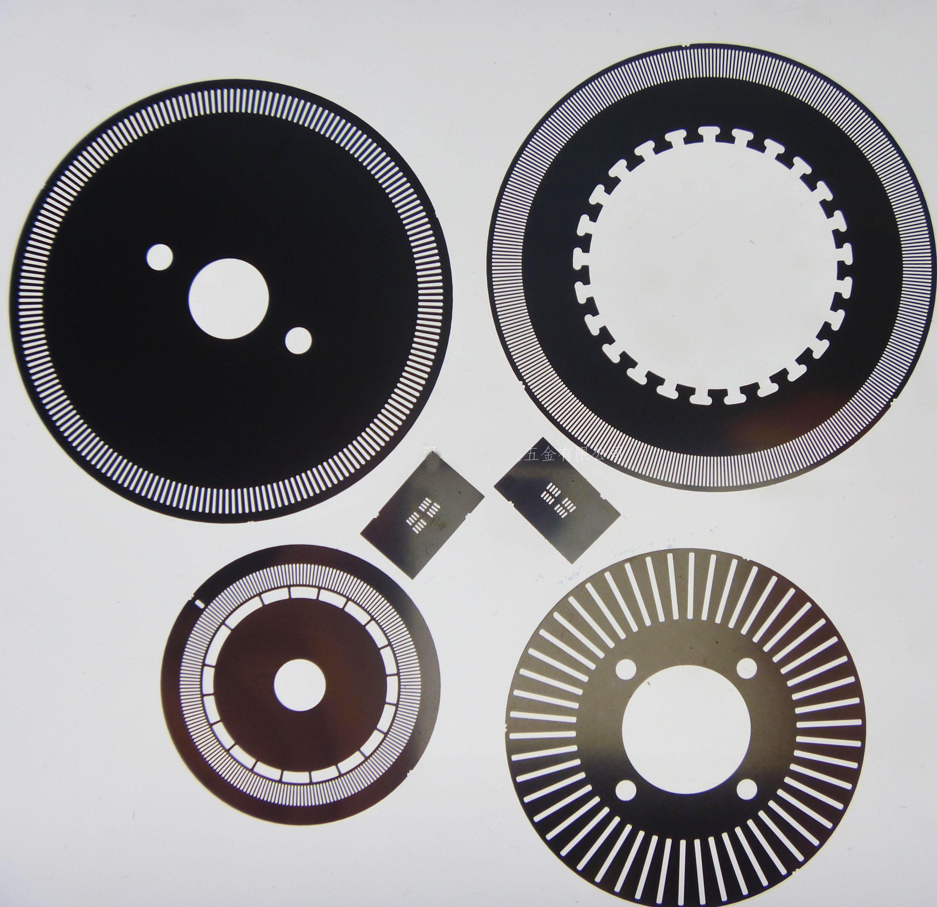 Custom made optical encoder disk