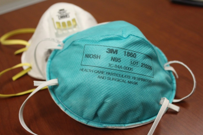 NIOSH certified Protective Dust Mask N95 Disposable Dust Respirator Mask