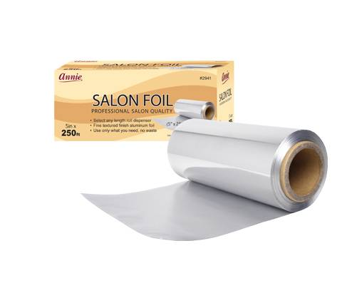 salon beauty hairdressing foil