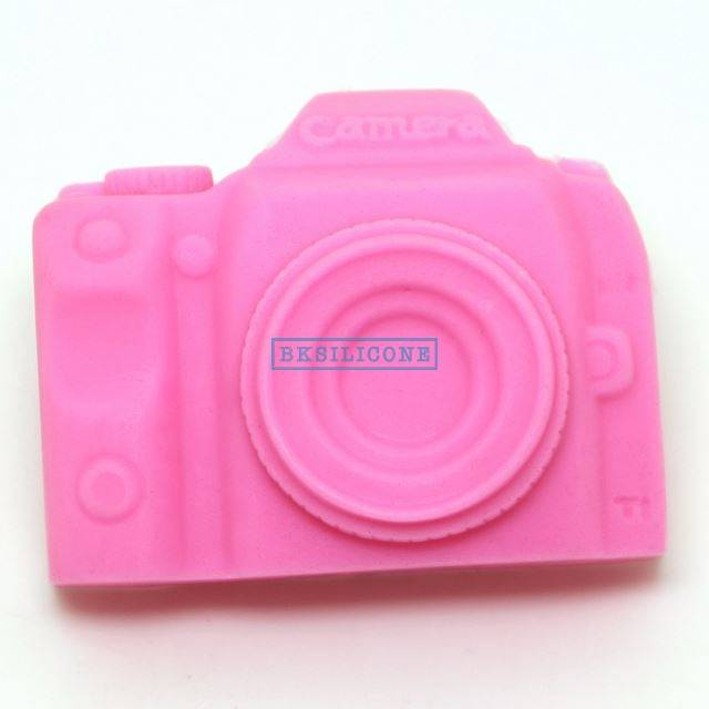Camera Silicone Mold 3D Cake Sugarcraft Fondant Decorating Tools Kitchen Accessories AB012