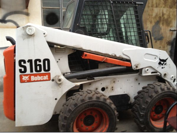 BOBCAT S160,Used Wheel Loader