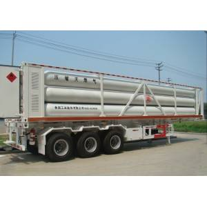 CNG tube trailers, 20Mpa, 8tubes