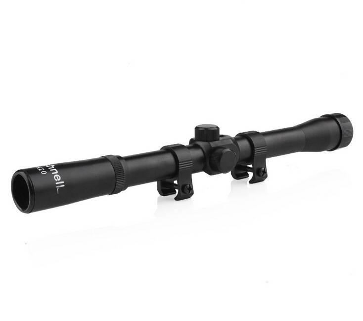 4 x 20mm Long Range Tactical Telescopic Shotgun Sniper Air Rifle Scope Sights