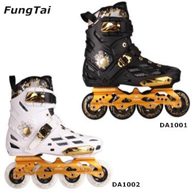 Mens 4 Wheels Inline Skate Shoes Street Slalon Roller Blade (DA1001-1002)