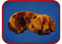 Sleeping dog plush dolls, Toys Crafts Mould, Imitated crafts, Gift Toys, holiday present