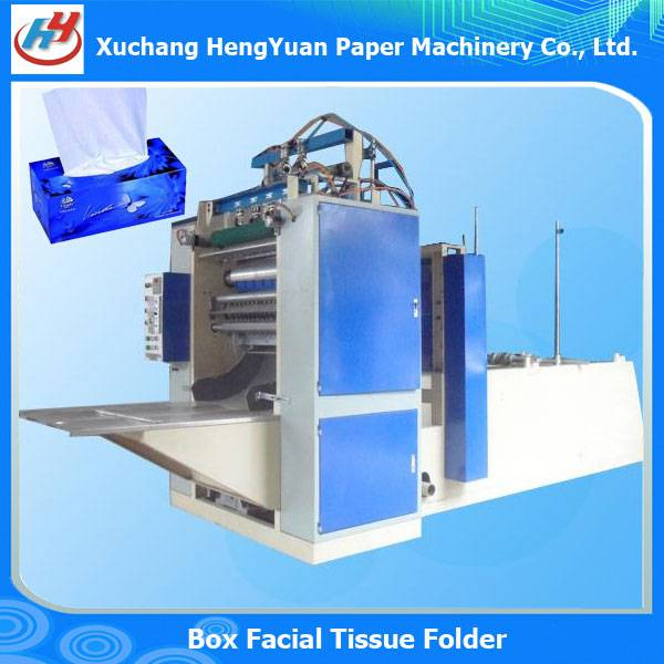 Extraction Style Box Packing Facial Tissue Machine