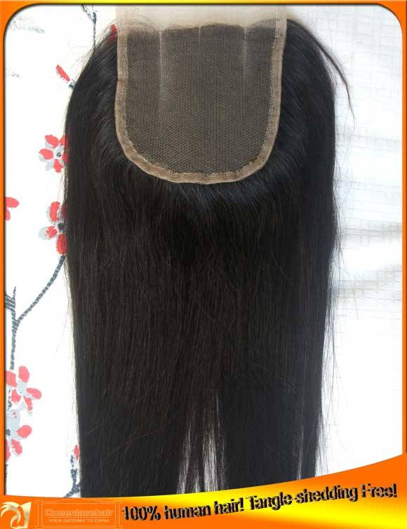 Wholesale Virgin Indian Brazilian Human Hair Top Lace Closures, Factory Price