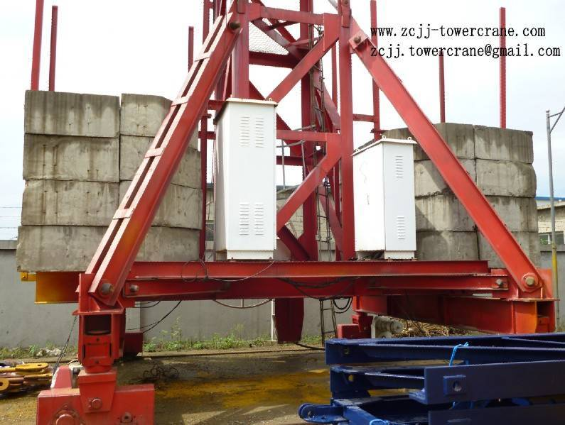 tower crane chassis