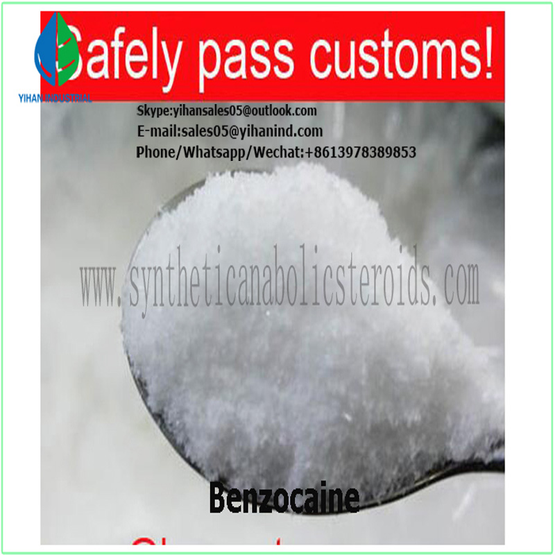 Local Anesthetic Powder Benzocaine API for Anti-Paining CAS 94-09-7 paypal Le