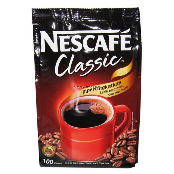 Cafe Classic 100g, Cafe Gold 100g, Cafe 3 in 1 Classic