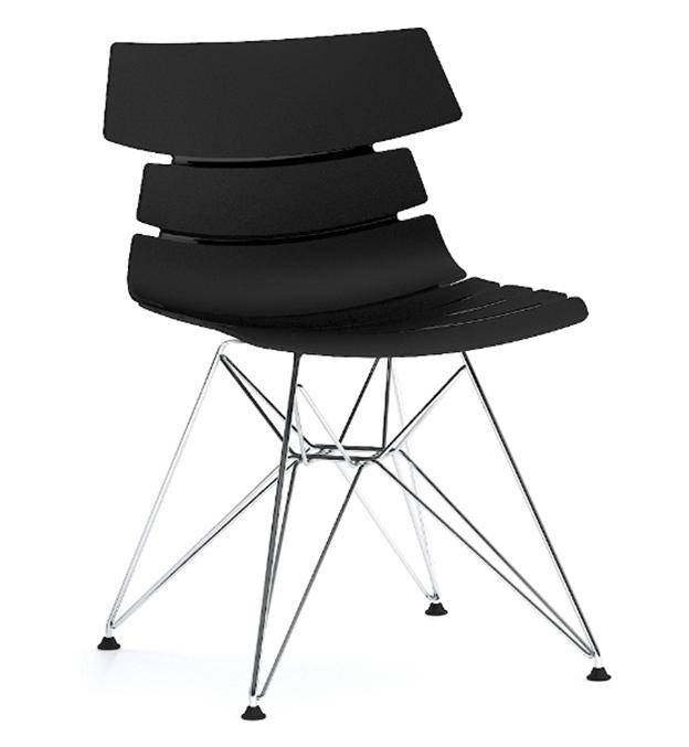 Best selling Products Eiffel Plastic Chair with Steel Legs