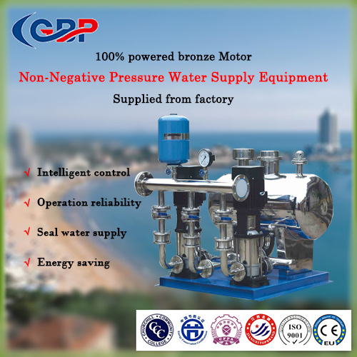 Non-Negative Pressure Water Supply Equipment 84-259-3