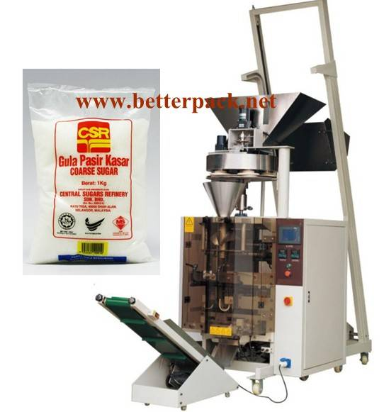 Automatic big bag beans rice sugar filling packing system