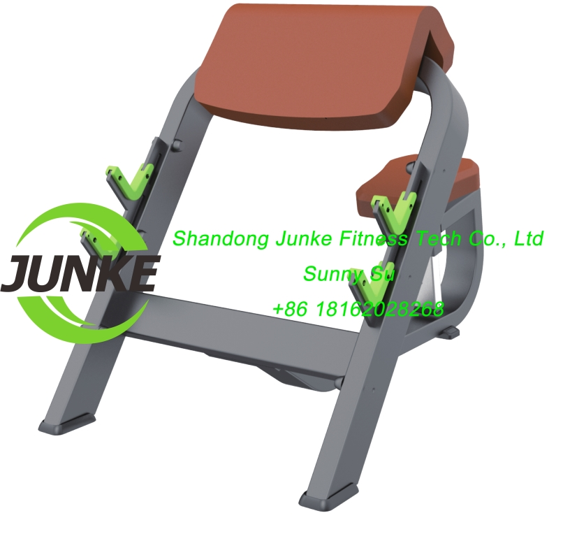z644 seated preacher curl commercial fitness equipemnt gym equipment