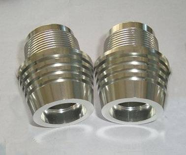 High precision stainless steel custom turned components