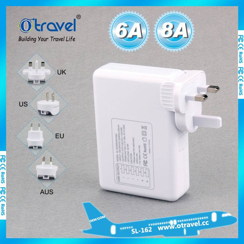 Shenzhen Otravel International travel adapter with 4 usb output power 6A