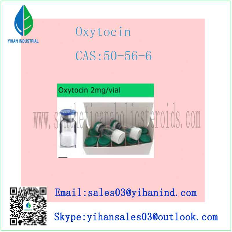99% Purity Safe Delivery Oxytocin for Stimulating Aterine Contraction (CAS: 50-56-6) Iris