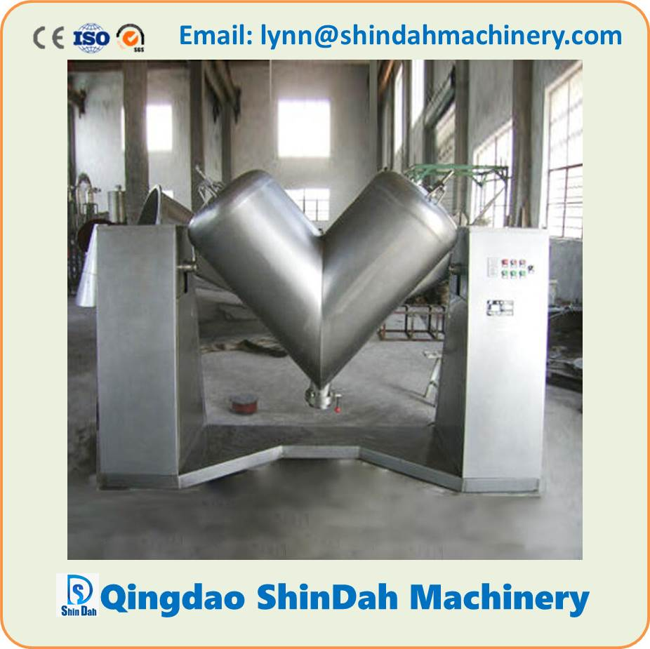 V Type Mixer, Mixing Machine for Dry Powder, Particles V Mixer