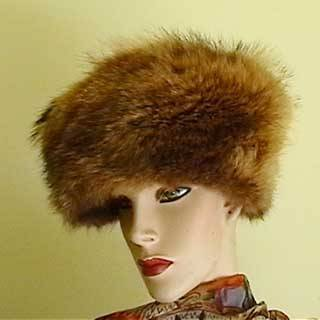 Tubby Fox Fur Cap
