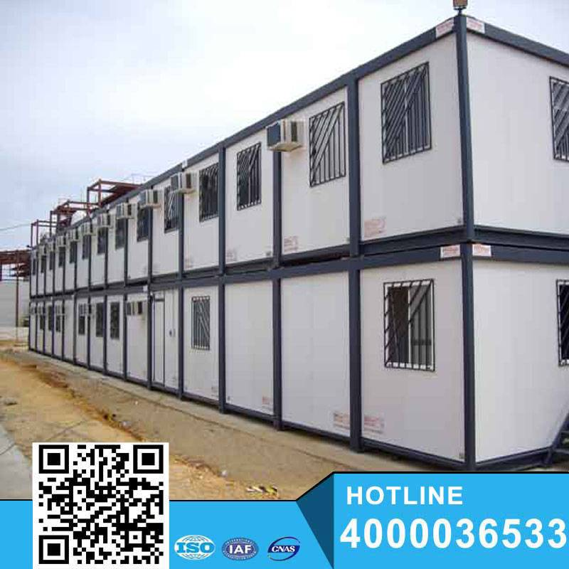 Favorable apartment/camp steel structure China Prefab motel