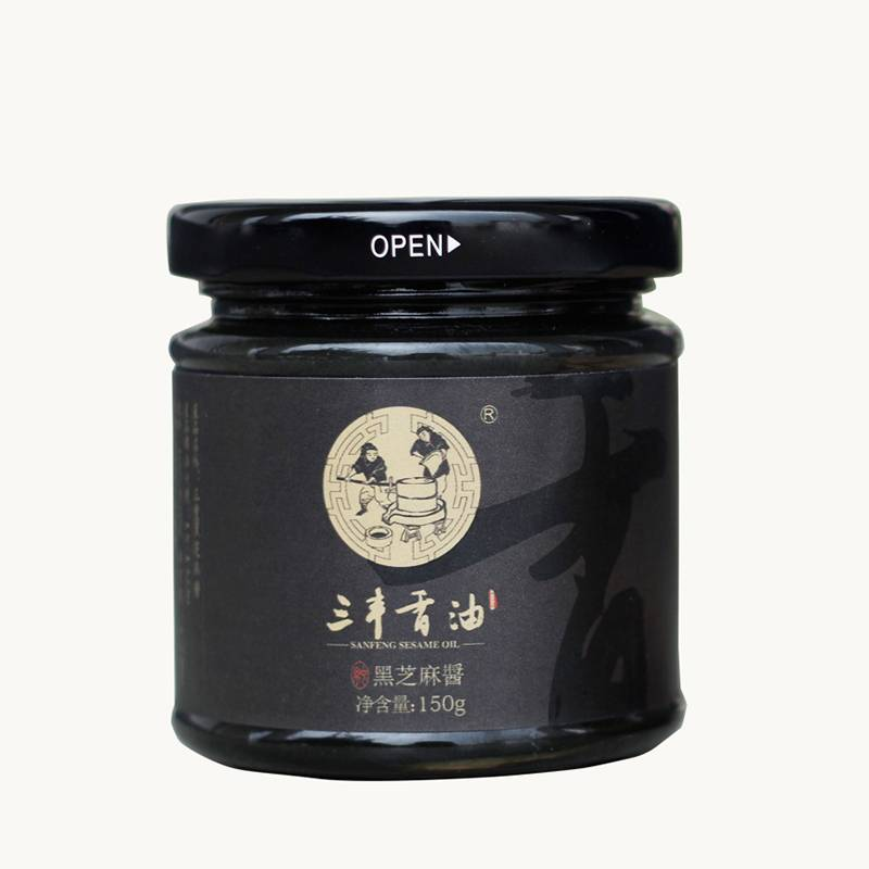 SANFENG pure black sesame paste
