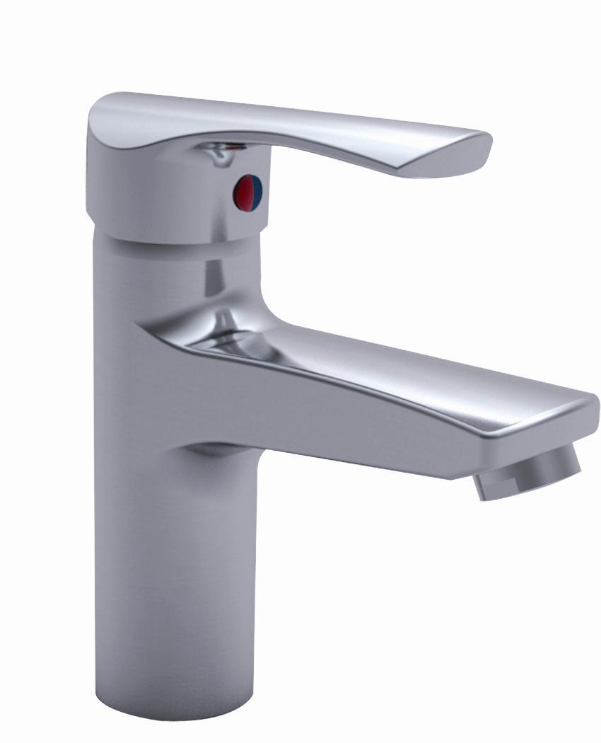 Single Handle and Hole Basin Faucet LD12157