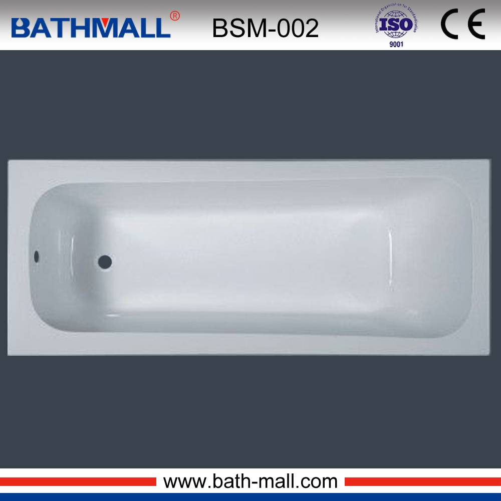 2016 indoor white clear acrylic fiberglass bathtub