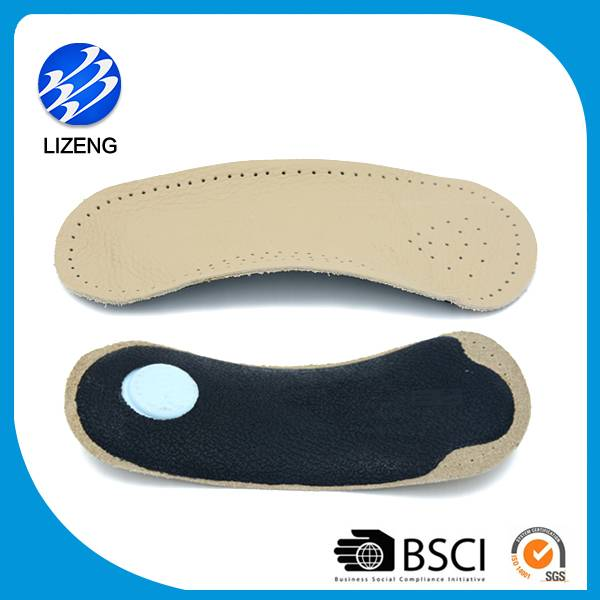 cow skin orthopedic insole