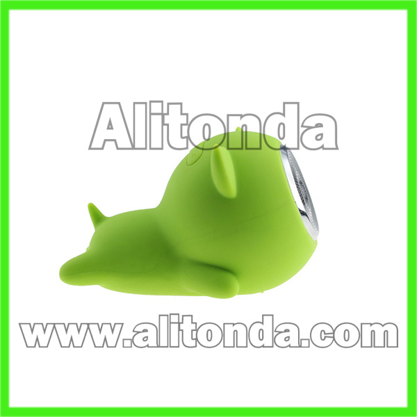 Cartoon cute mini speaker for promotional gifts