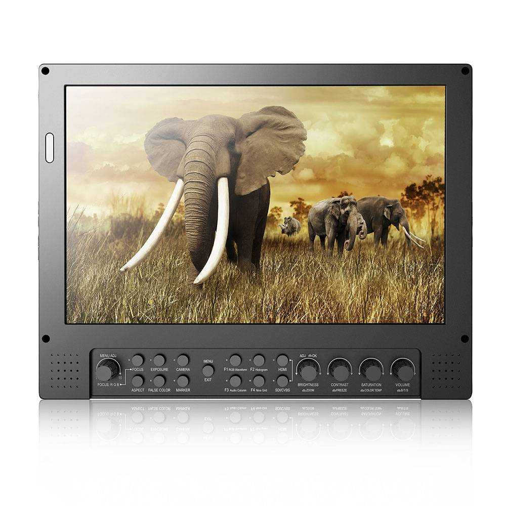 "BBDTECH 9"" Field Monitor, Full HD 1920 x 1080 SDI Monitor, Pro Broadcast Monitor"