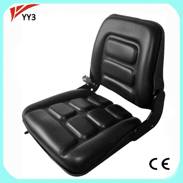 Qinglin YY3 Durable New Universal Vinyl Forklift Seats , Parts Forklift Hangcha