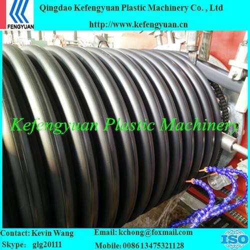 KFY hdpe corrugated drain drainage sewage pipe tube machine