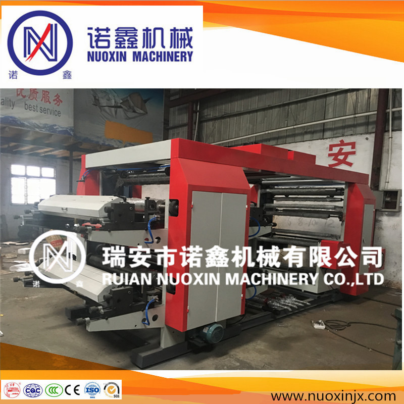 4 color non-woven flexo printing machine