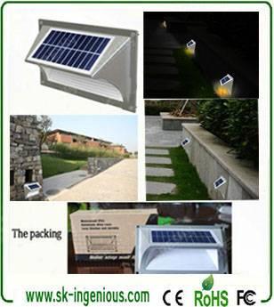 Wholesale Landscaping Garden Solar Led Outdoor Lights,Step Light