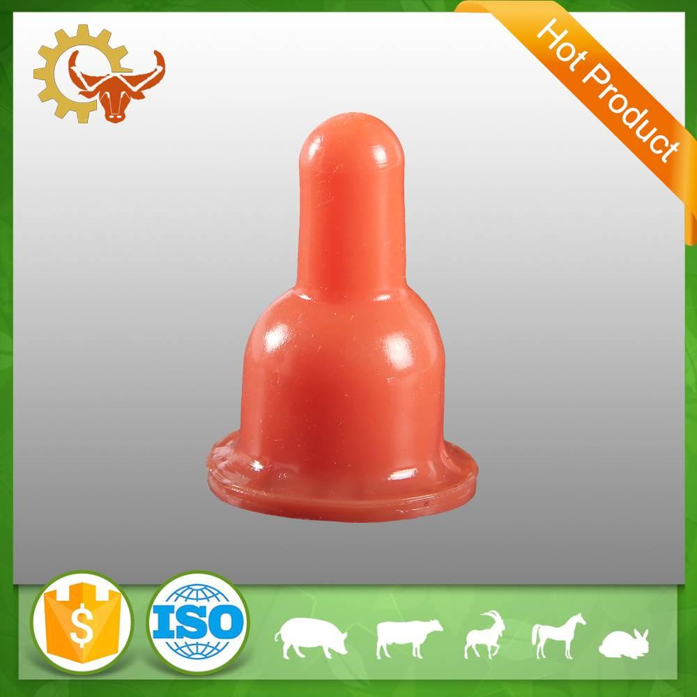 2016 hot product Natural Rubber nipple livestock