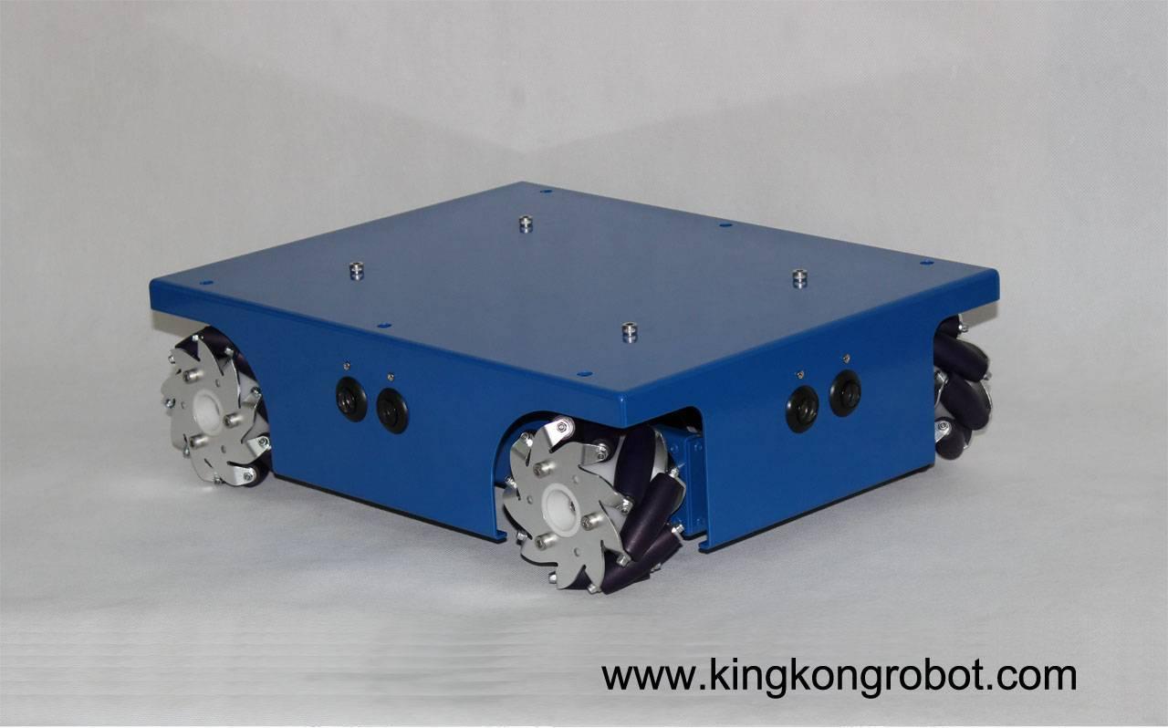 KR0003 4WD Mecanum Wheel Mobile Robotic Platform/Kit