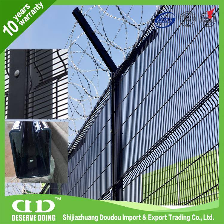 High Secutiry 358 Welded Prison Fence Factory