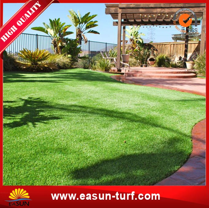 Natural Looking Synthetic Grass Turf for Resident Garden-MY